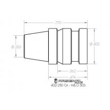 432-250 Gr. TC – H&G 503
